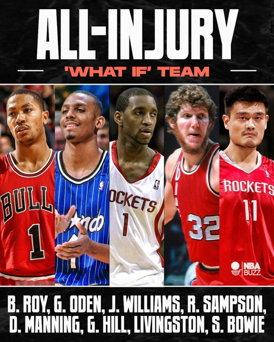 NBA Fans Appreciate The What If Team Featuring Derrick Rose, Tracy McGrady, And Other Players