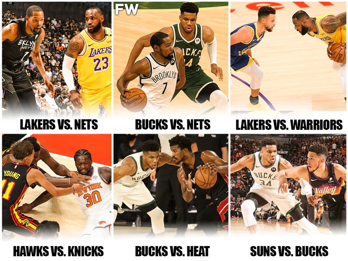 10 Biggest Rivalries For The 2021-22 NBA Season: Everybody Wants To Watch Lakers vs. Nets