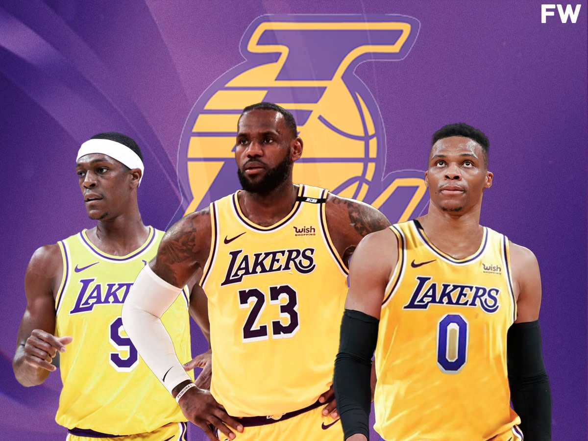 The 2021/22 Los Angeles Lakers Feature 7 Of The Last 10 NBA Assists Leaders: LeBron James, Russell Westbrook And Rajon Rondo