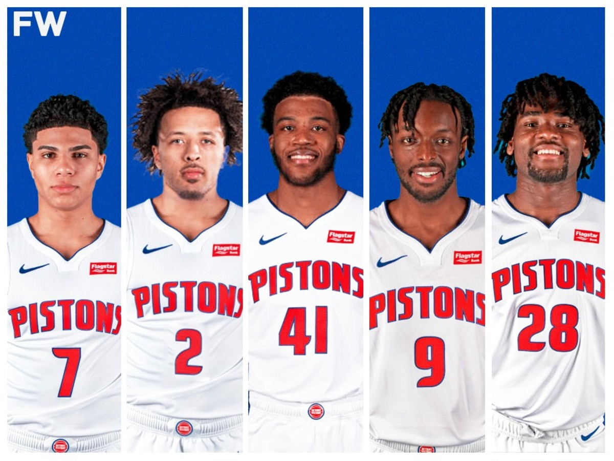 The Detroit Pistons Potential Starting Lineup: The Start Of The Cade Cunningham Era