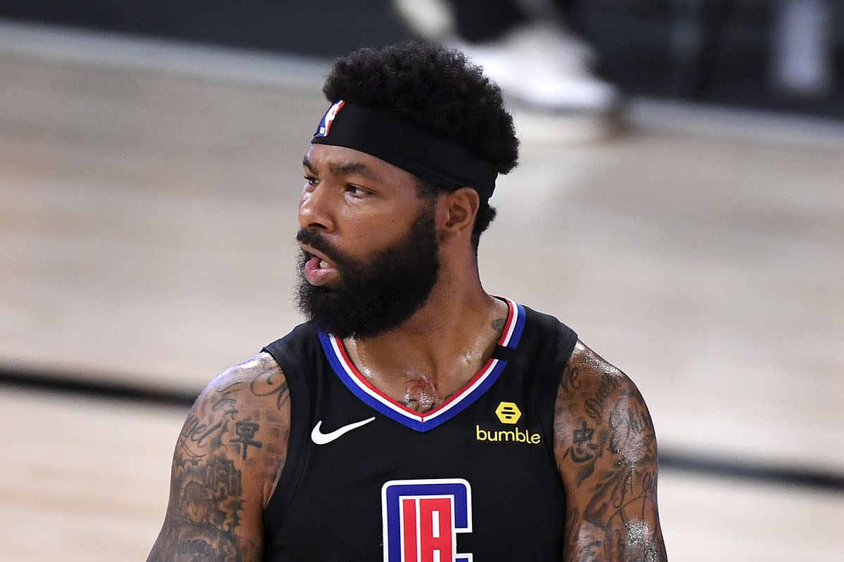 Marcus Morris of the Los Angeles Clippers