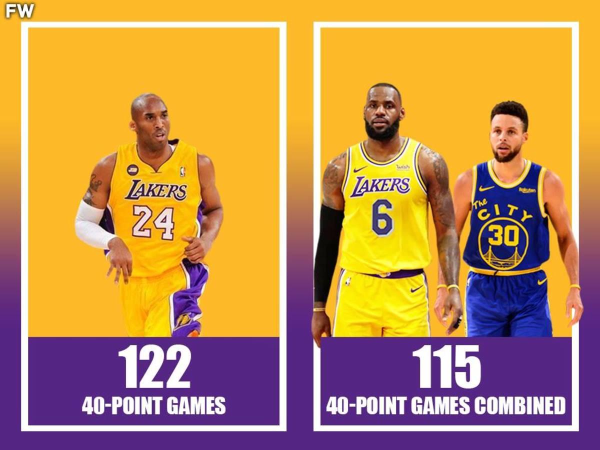 Kobe Bryant vs LeBron James and Stephen Curry