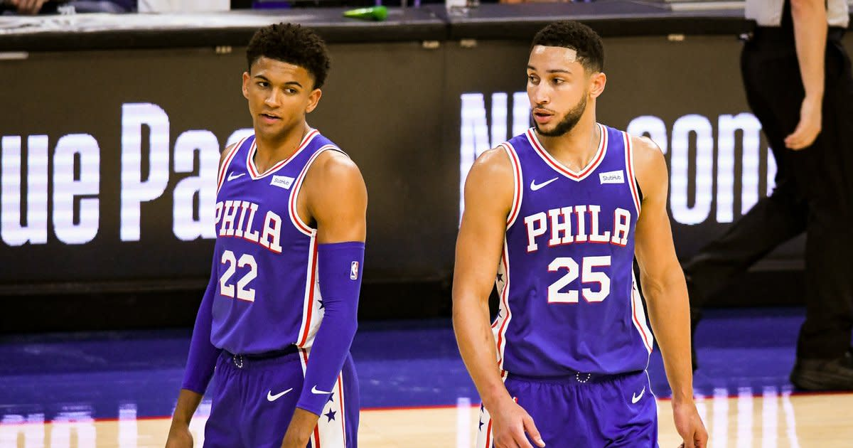 Ben Simmons and Matisse Thybulle