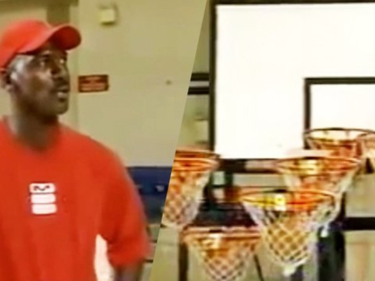 """When Michael Jordan Played And Lost Bizarre Japanese Game """"9 Hoops"""""""