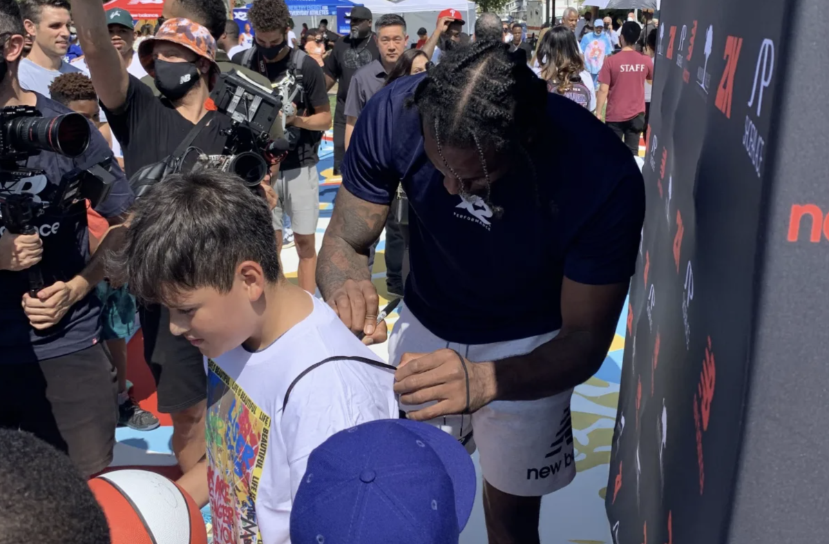 """Kawhi Leonard Opens A Basketball Court In His Hometown: """"I'm Gonna Keep Working... To Keep Putting You On The Map"""""""