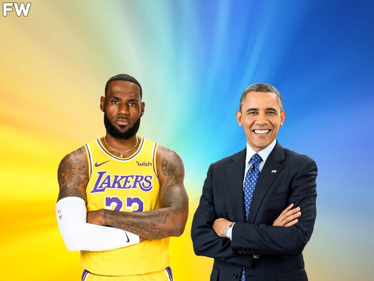 "Baron Davis: ""We Should Treat LeBron James With The Same Respect As Obama"""