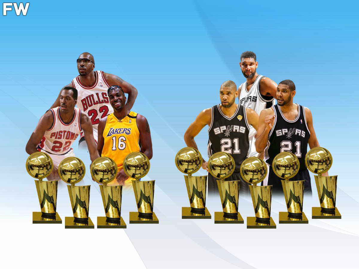 The Only 2 Players To Win NBA Championships Across 3 Decades: Tim Duncan And John Salley