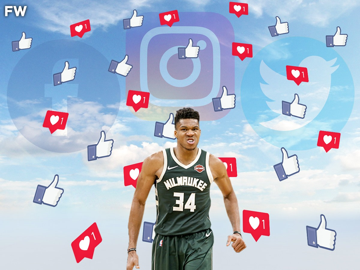 """Giannis Antetokounmpo Wants To Increase His Social Media Followers: """"Make Sure You Tag Me On Everything"""""""