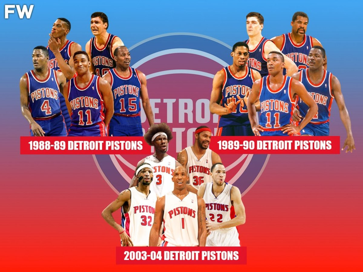 Only 3 Teams In NBA History Have Won A Championship Without An MVP: 1989, 1990, 2004 Detroit Pistons