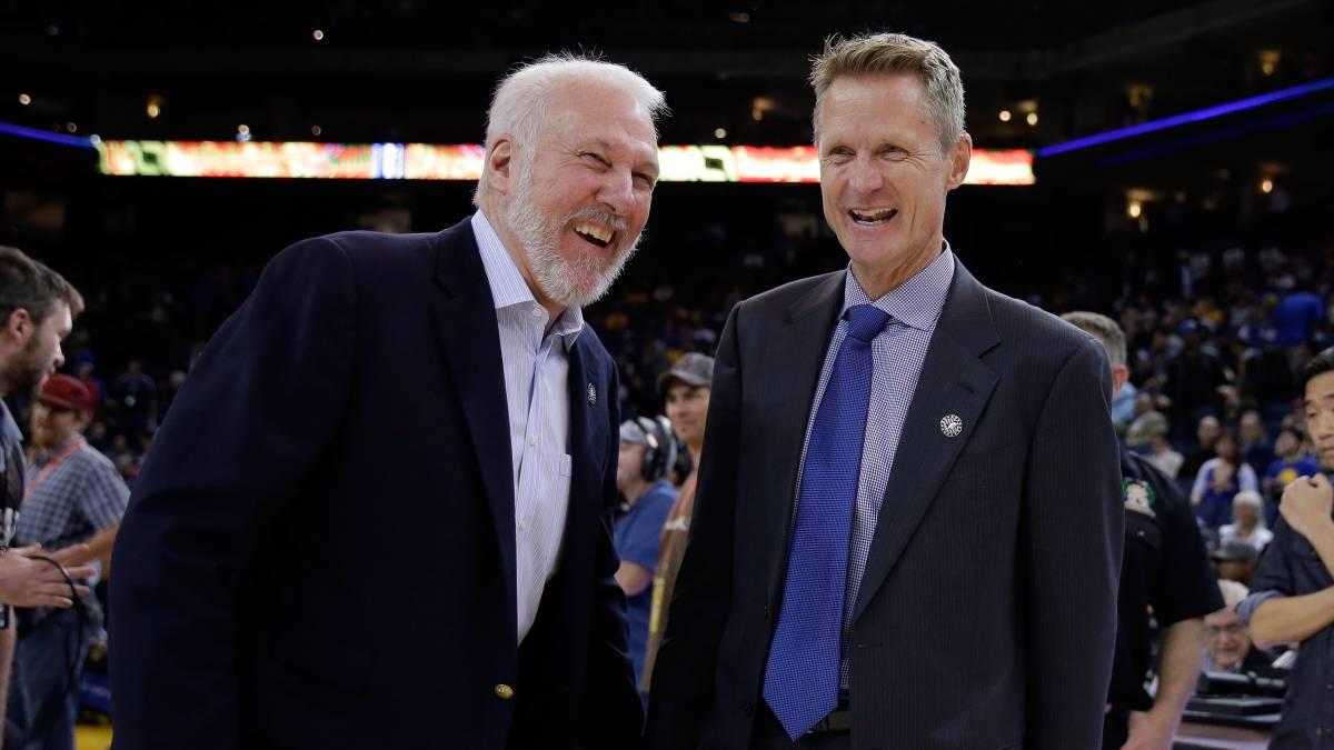 Gregg Popovich and Steve Kerr