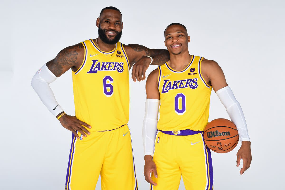 """James Harden On LeBron James And Russell Westbrook Playing Together: """"They Got To Figure Out The Fit. On Paper, They Look Great."""""""