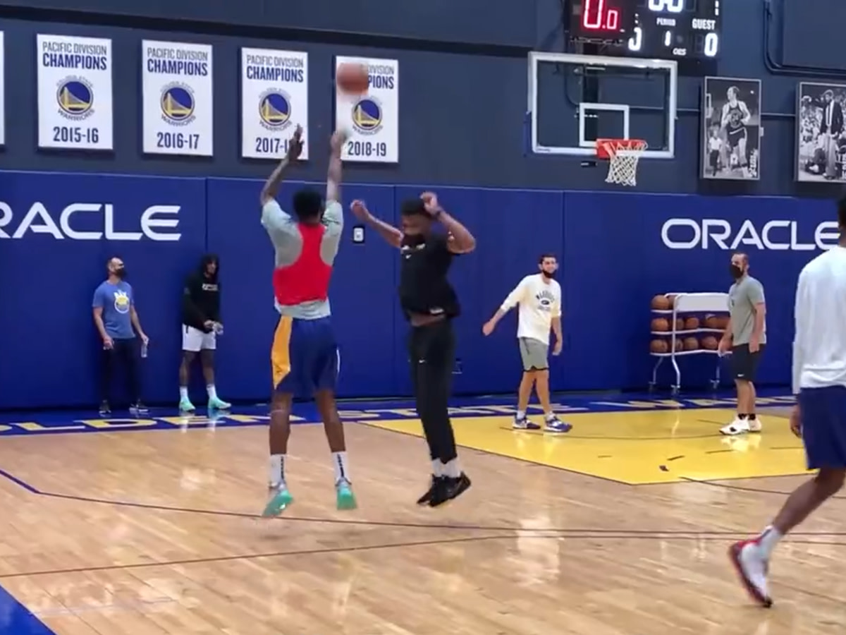 """NBA Fans Mocks Andrew Wiggins' Shooting Practice: """"He's Worried About The Wrong Kind Of Shots"""""""