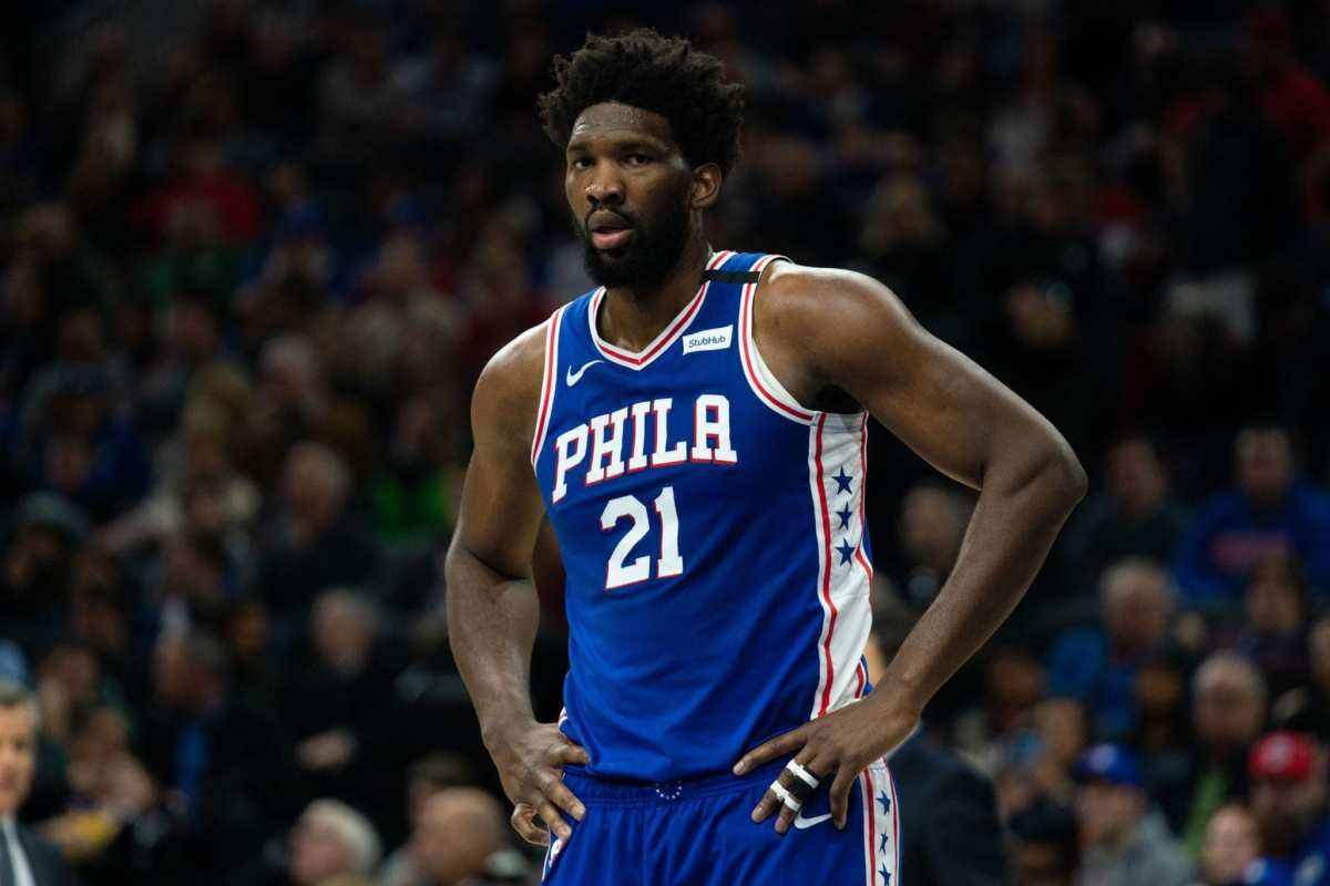 """Stephen A. Smith Urges Joel Embiid To Step Up His Game: """"The Onus Is Now On Embiid To Step Up And Be Relied On Like Never Before"""""""