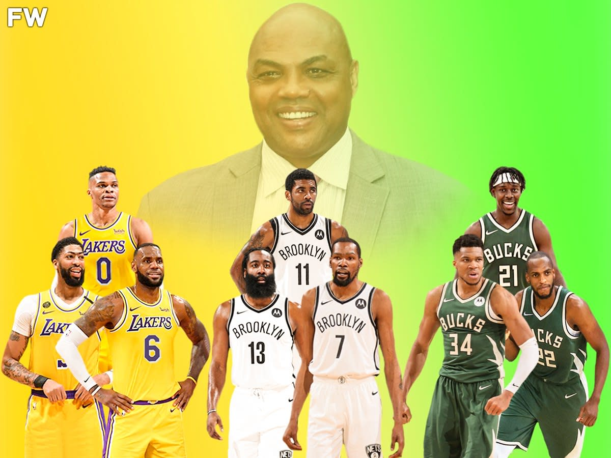 """Charles Barkley Believes The Los Angeles Lakers, Brooklyn Nets, And Milwaukee Bucks Are The 3 Best Teams In The NBA: """"To Me, Those Are The Top 3 Teams In No Particular Order"""""""