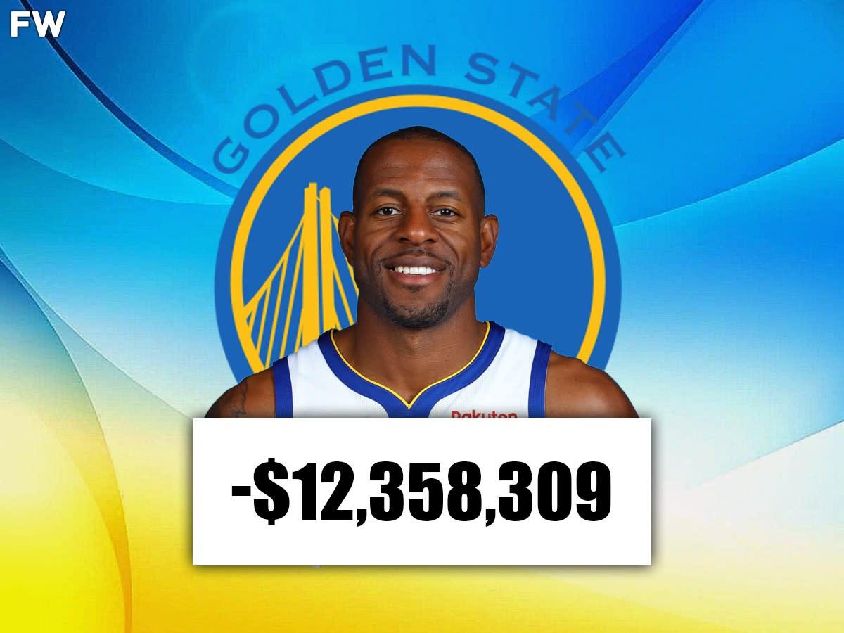 Andre Iguodala (Golden State): -$12,358,309