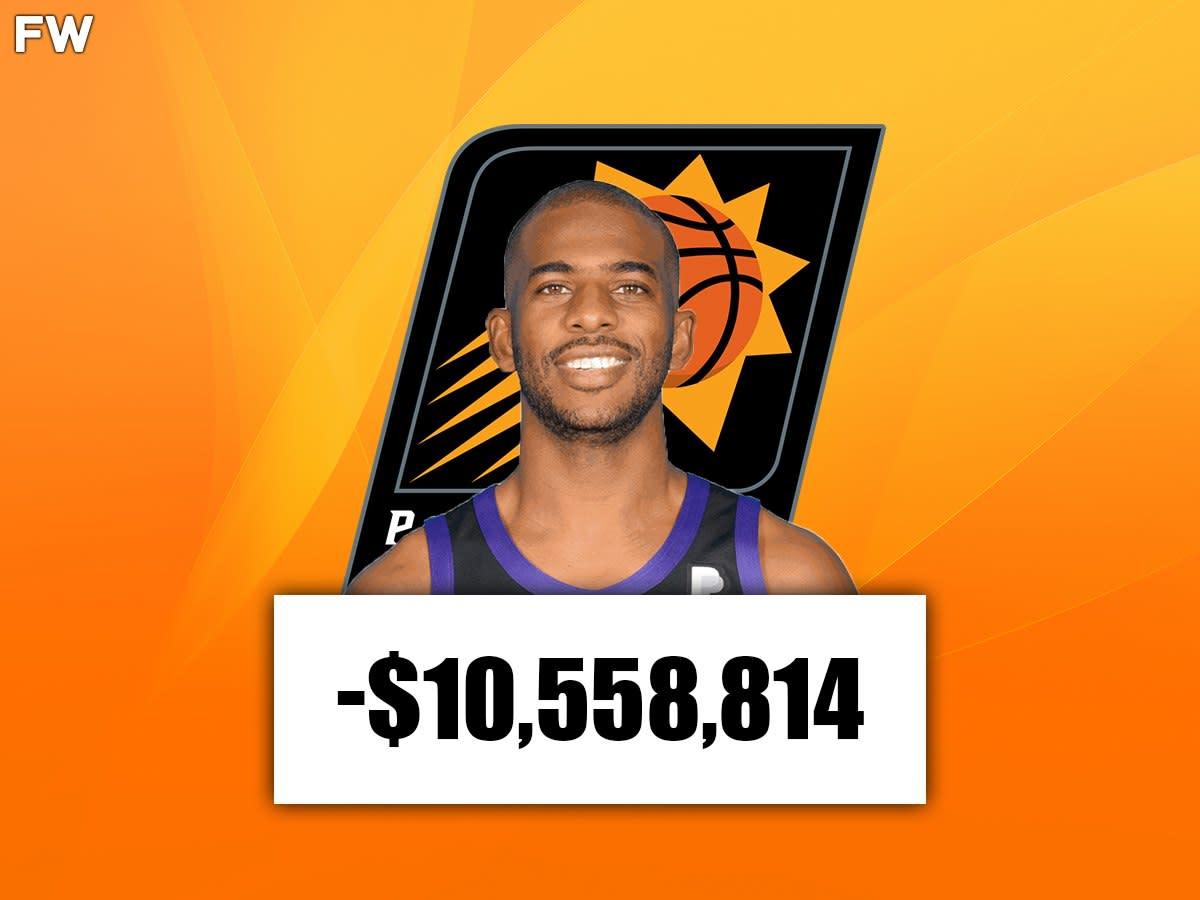 Chris Paul (Phoenix): -$10,558,814
