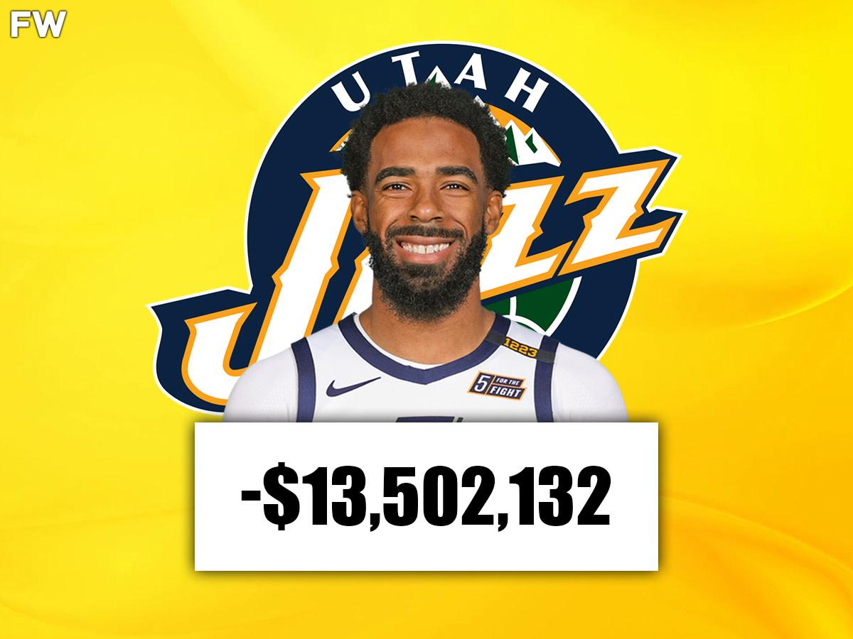 Mike Conley (Utah): -$13,502,132