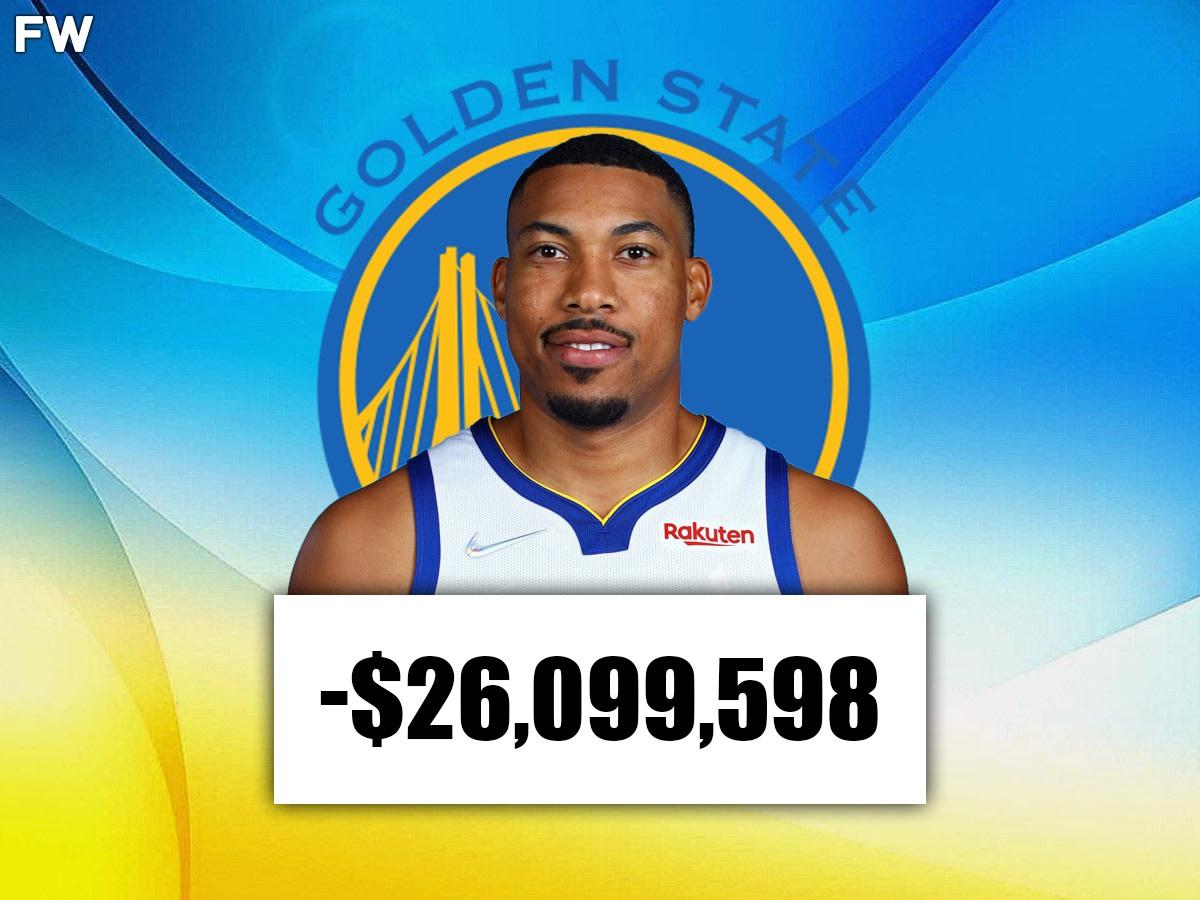 Otto Porter (Golden State): -$26,099,598