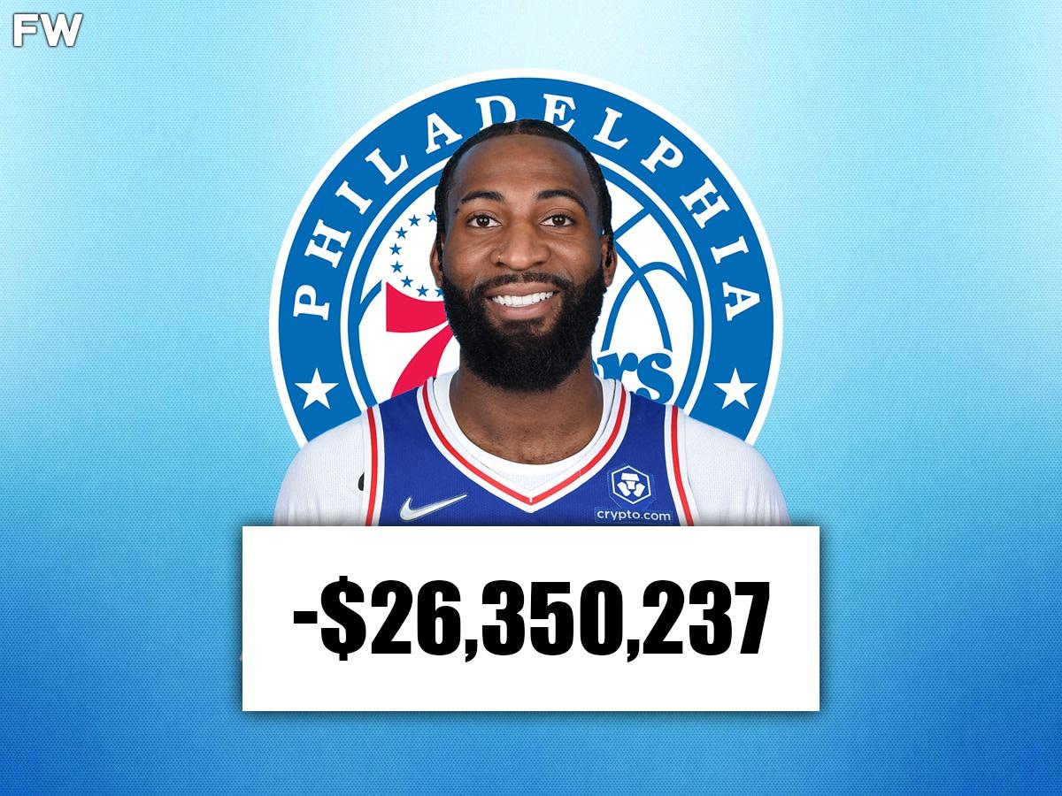 Andre Drummond (Philadelphia): -$26,350,237