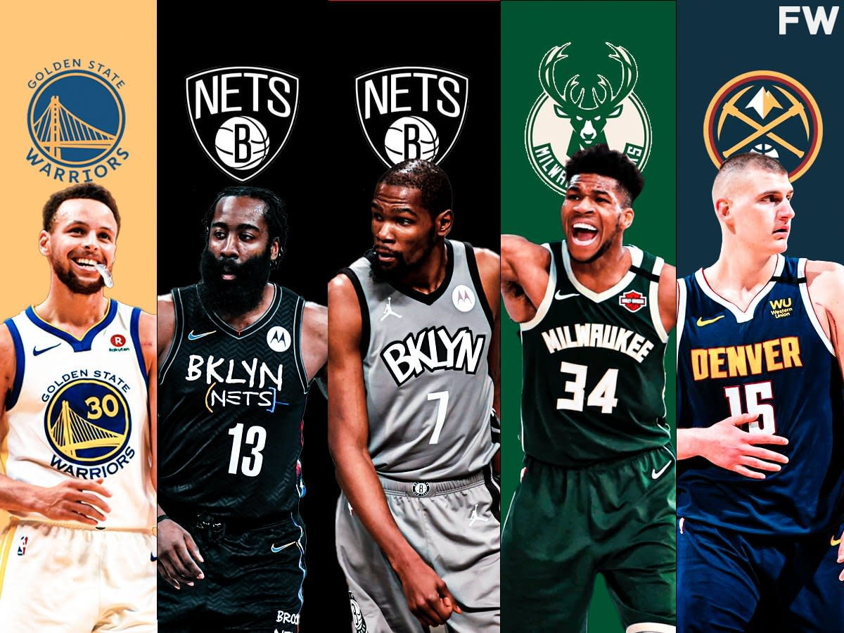 NBA GMs Select The Best Player At Each Position For The 2021-22 Season