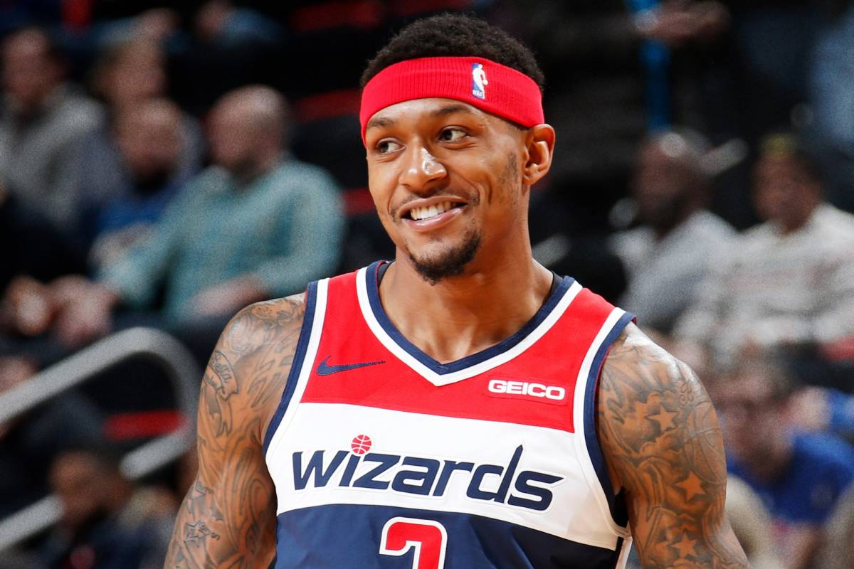 Bradley Beal Was Playing Rock, Paper, Scissors With A Fan In The Stands
