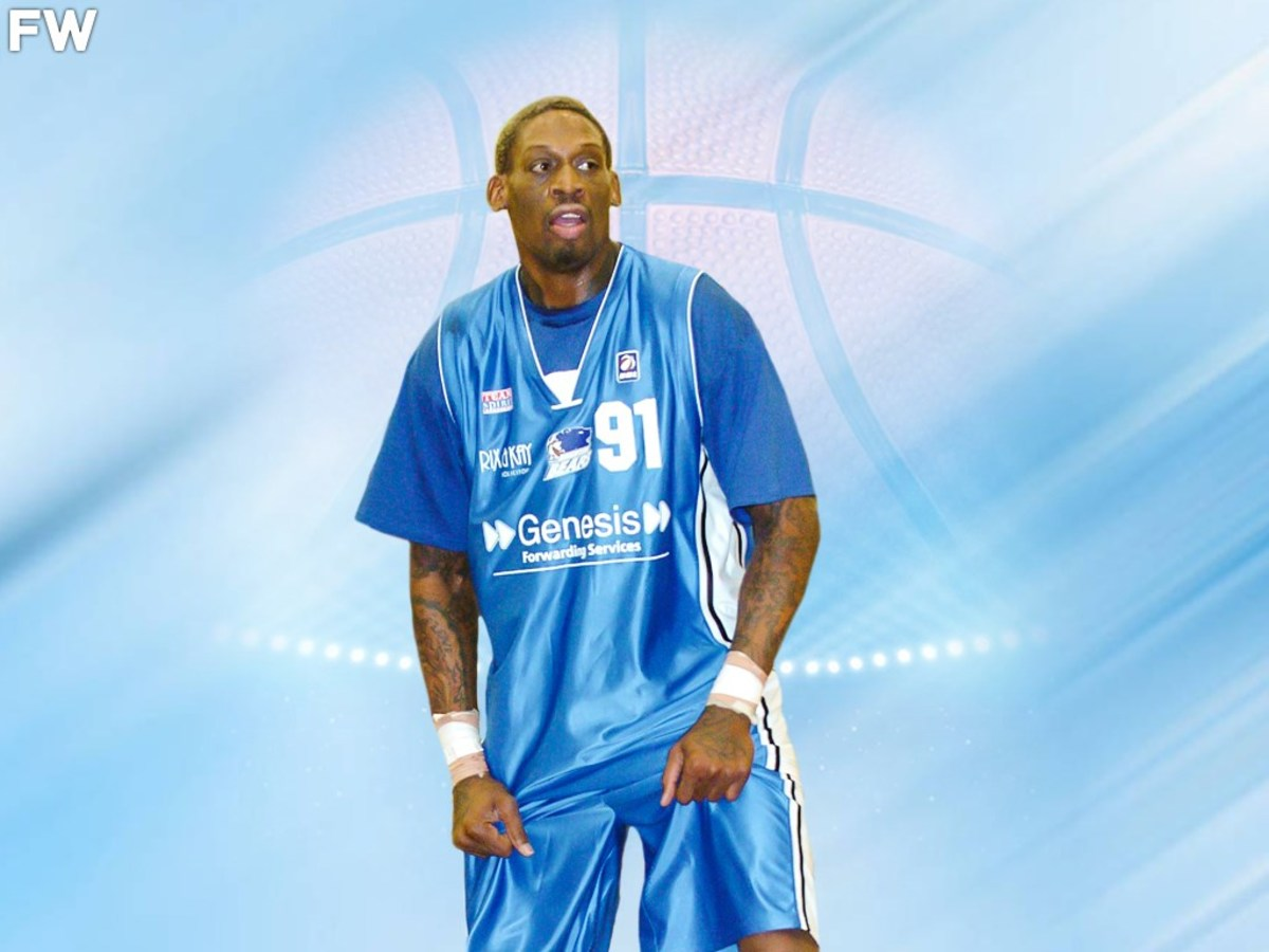 In 2006, 45-Year-Old Dennis Rodman Had 23 Rebounds In A Single Game, Breaking The Record For The BBL