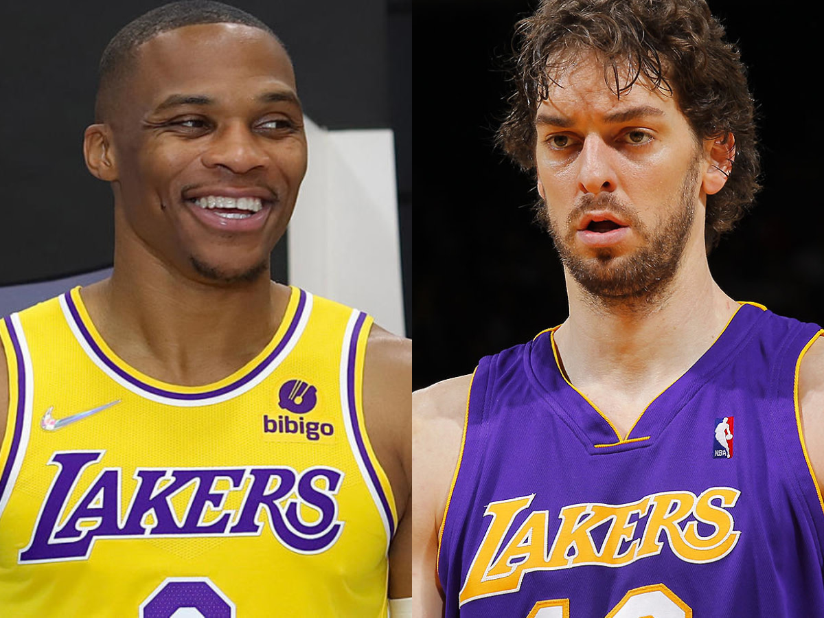 Russell Westbrook and Pau Gasol
