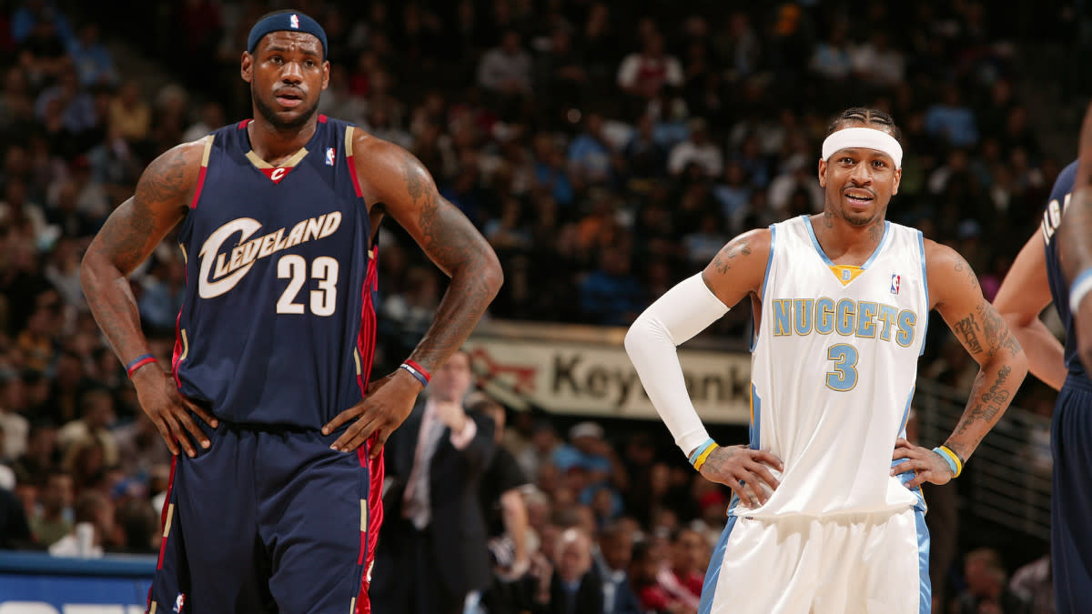 """Skip Bayless Questions Why LeBron James Is Not On Allen Iverson's Top 5 Killers List: """"This Was The Ultimate Diss."""""""