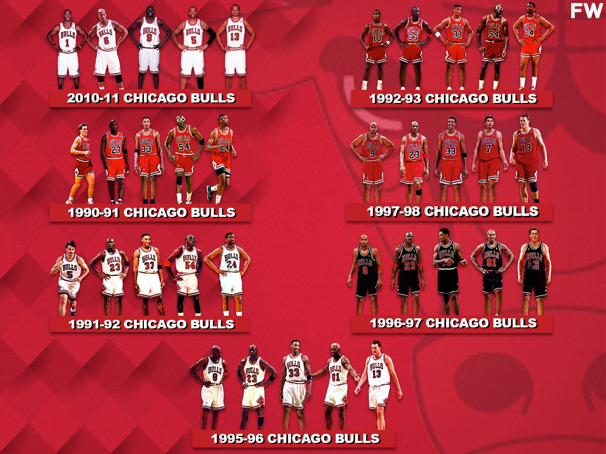 7 Greatest Teams In Chicago Bulls History: 1995-96 Bulls Are The Best Ever