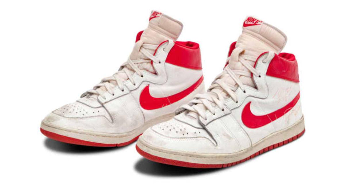 Michael Jordan's Rookie Sneakers