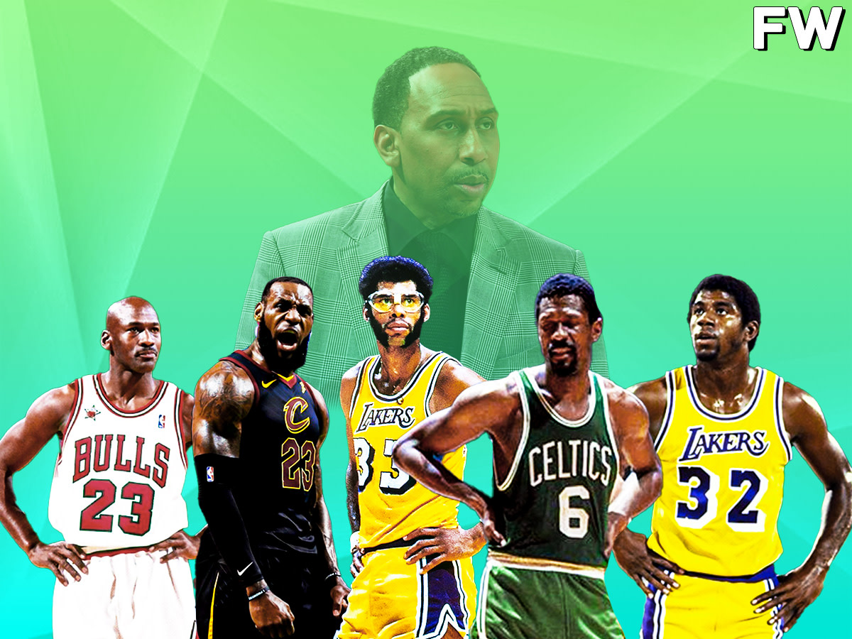 Stephen A. Smith's top 5 players of All-Time
