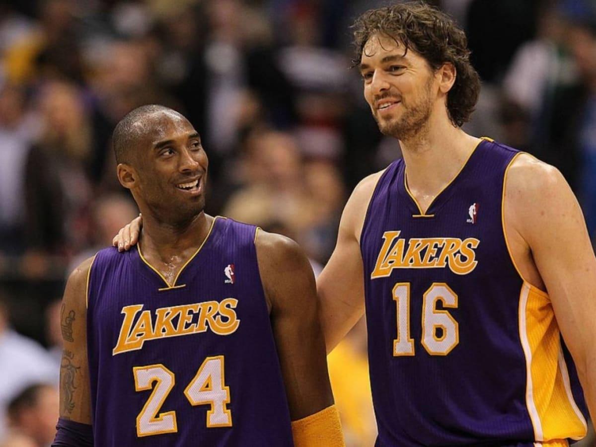 Pau Gasol Reveals How Kobe Bryant Inspired Him:
