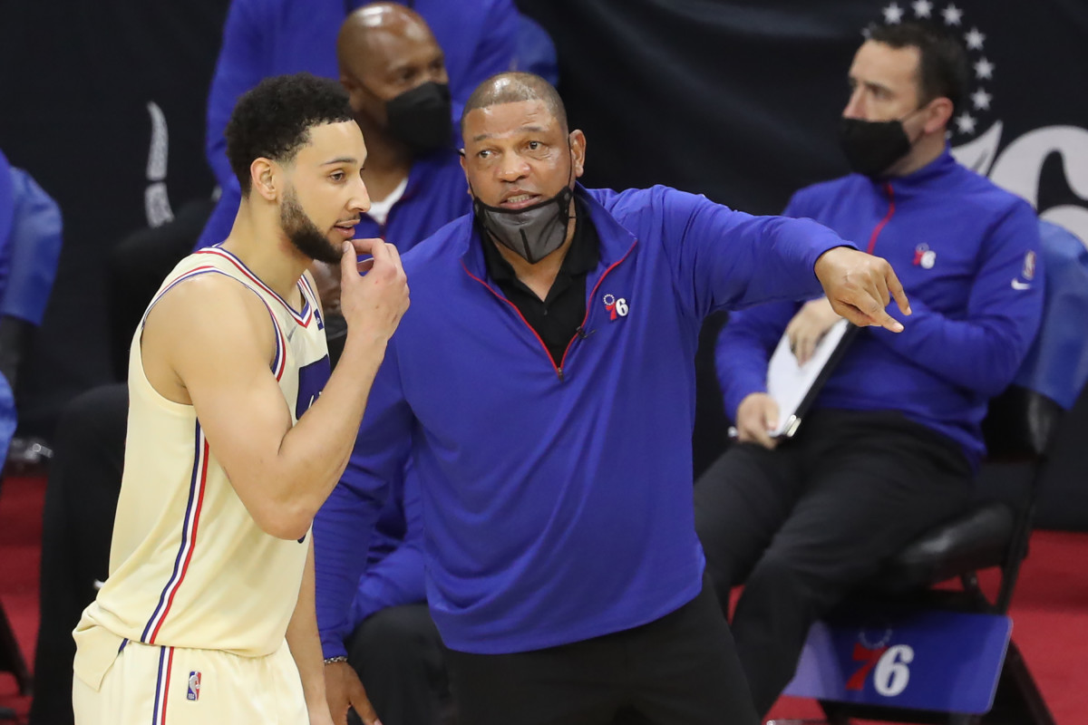 """Doc Rivers Says He's Not Worried About The Sixers' Point Guard Situation: """"I Don't Worry About What We Don't Have. You Are Talking To The Wrong Guy."""""""