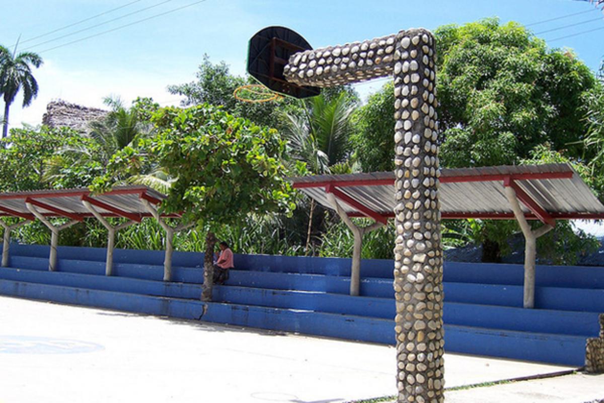 Stone Encrusted Hoop Court (Guatemala)