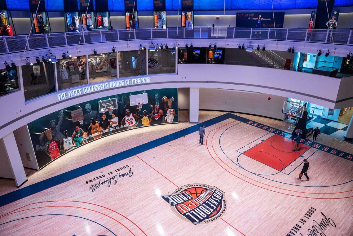 Basketball Hall Of Fame Court
