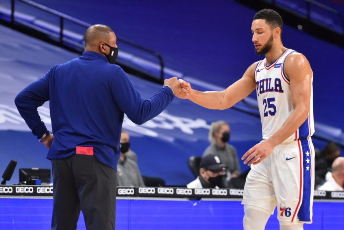 Ben Simmons Is 'Going Through The Process' Is Rejoining Sixers After Meeting With Doc Rivers And Daryl Morey