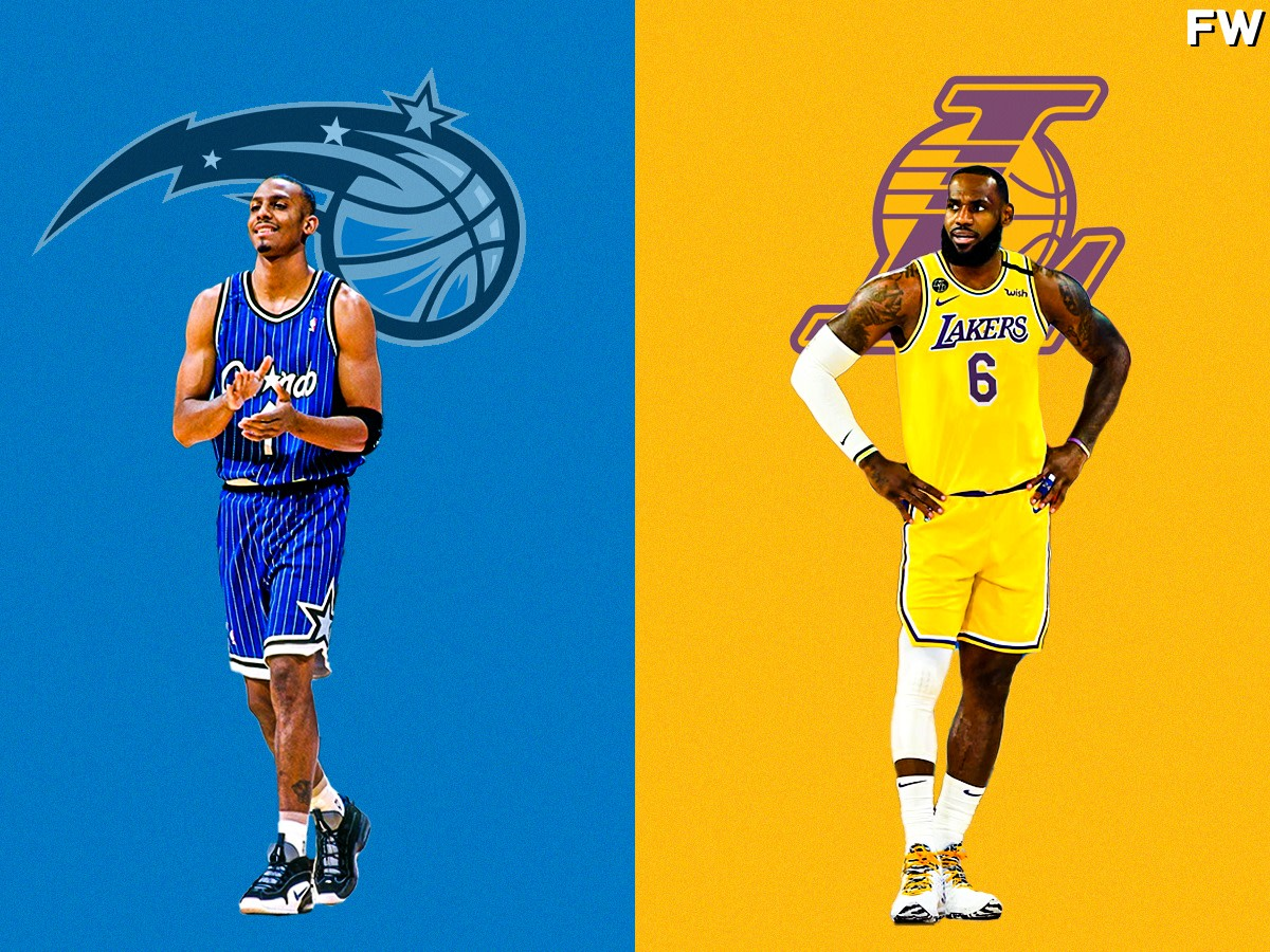 """Nick Anderson Compares Penny Hardaway And LeBron James: """"You Look At Penny Hardaway, Can Pass The Ball, Can Score, Rebound, Great Defender… Did It All!"""""""