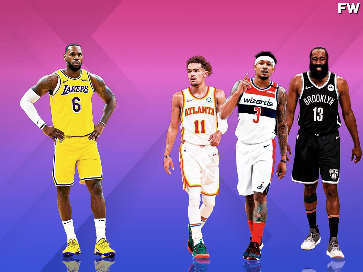 LeBron James Shot Better From Three Last Season Than James Harden, Bradley Beal, And Trae Young