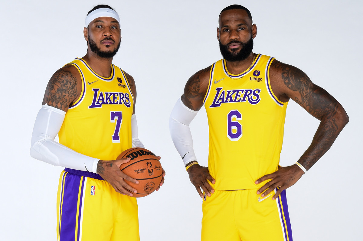 """Carmelo Anthony On What Led To Him Joining LeBron James And The Lakers: """"I Needed To Hear 'I Need You. I Want You'."""""""