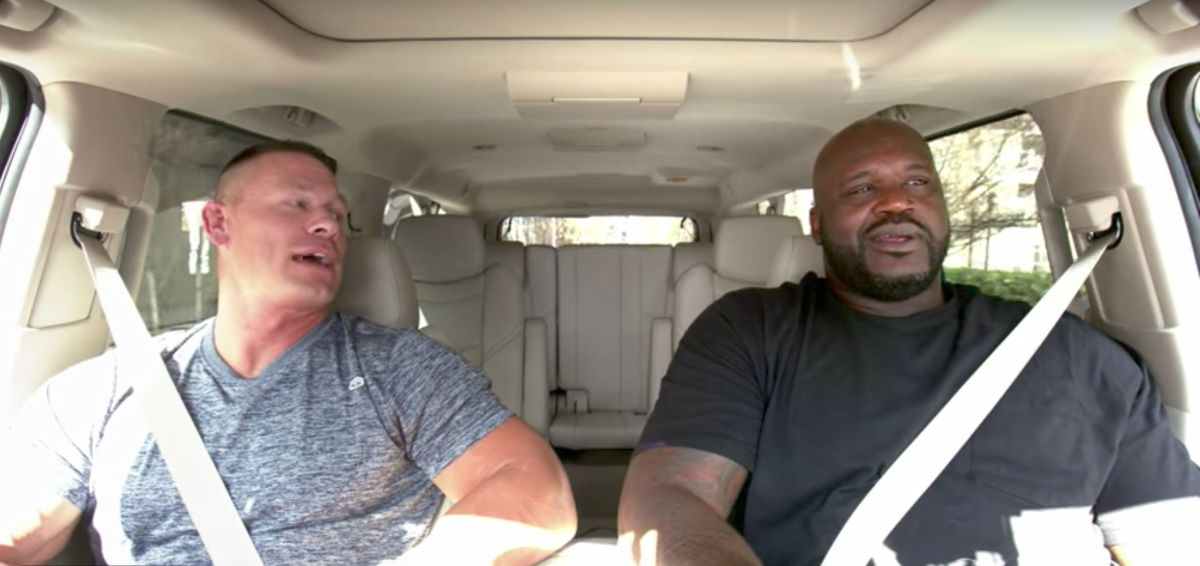 """John Cena And Shaquille O'Neal Trade Mad Nicknames For Each Other: """"Are You In A Culde-Shaq?"""""""