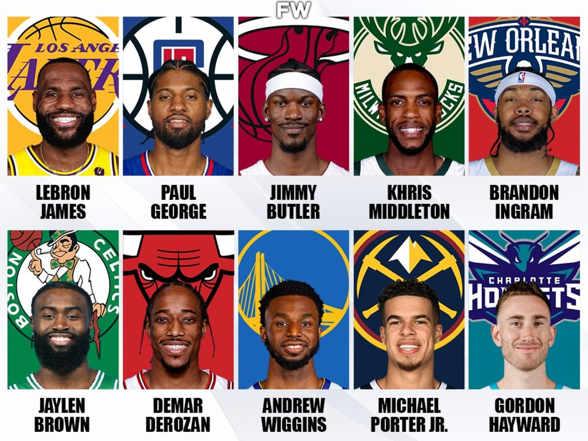 Top 10 Small Forwards For The 2021-2022 NBA Season