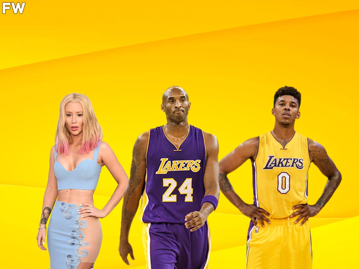 """When Kobe Bryant Was Asked To Pick Between Iggy Azlea Or Nick Young: """"Iggy. She's Been More Successful In Her Career So Far."""""""