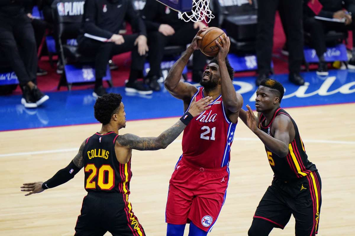 """Hawks Forward John Collins On The 76ers: """"I Feel Like We Shined A Bright Light On Them And Helped Maybe Expose Why They Weren't Doing What They Were Expected To Do."""""""