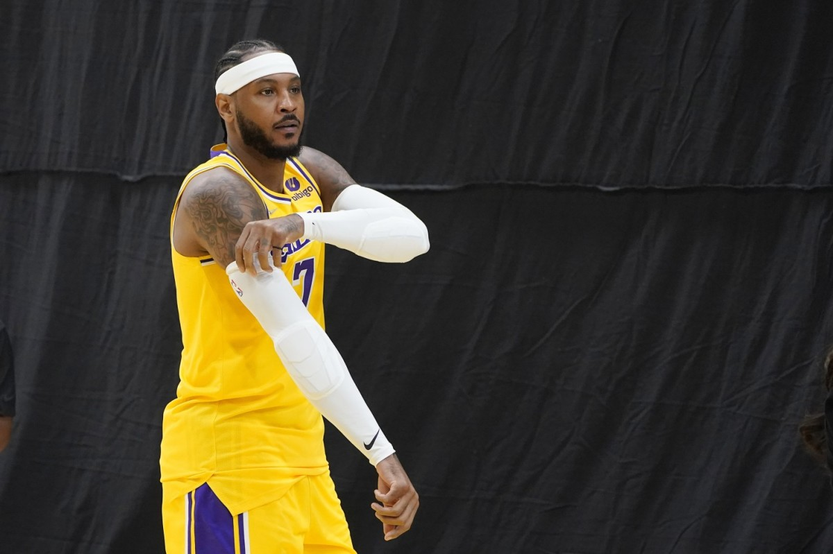 """Frank Vogel Reveals Carmelo Anthony's Part On The Lakers: """"He's Going To Help Us Whether We Use Him Off The Bench Or In Starting Lineup."""""""