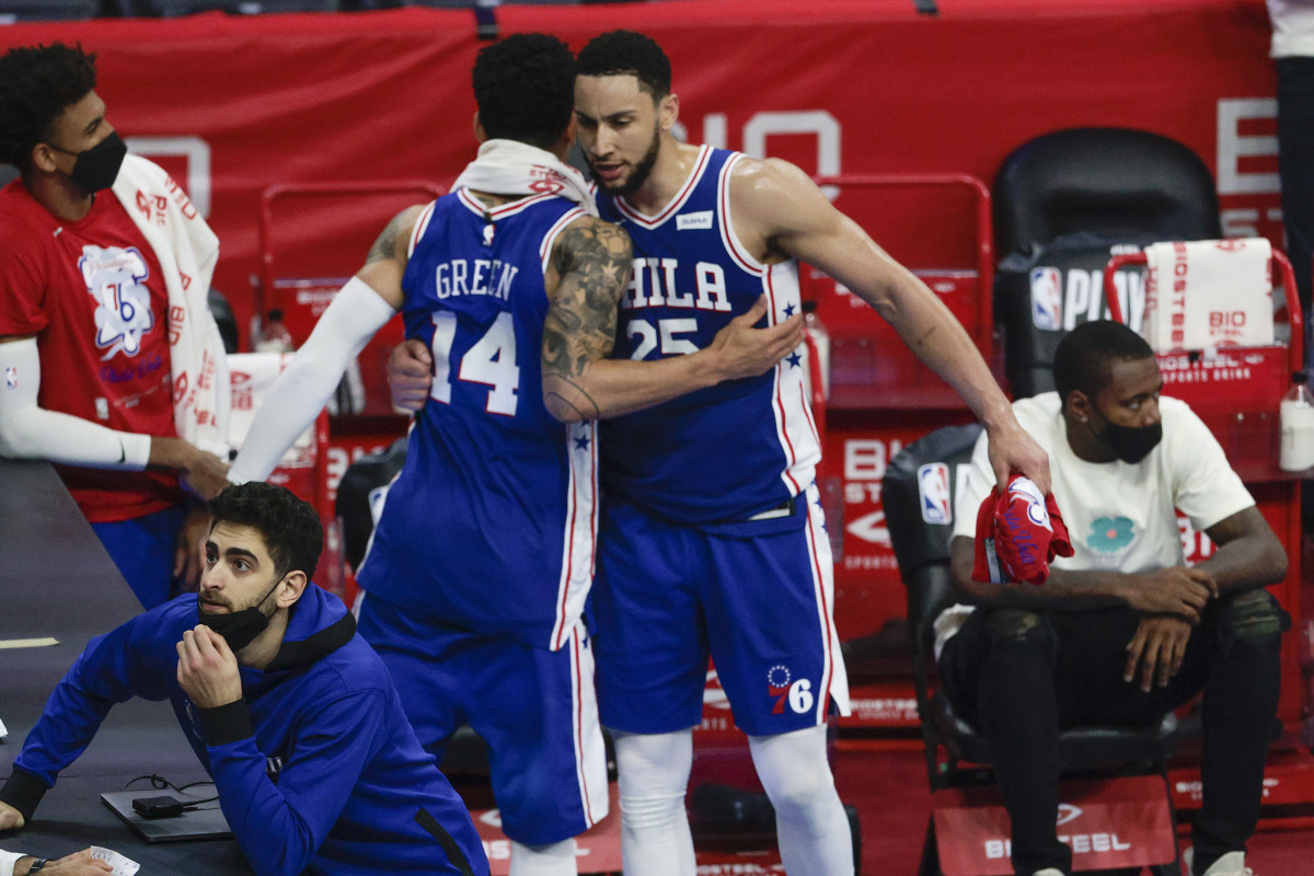 """Danny Green On What He Expects For Ben Simmons: """"We're Not Asking Him To Shoot Jump Shots. Just Come In, Be A Pro, Do Your Job..."""""""