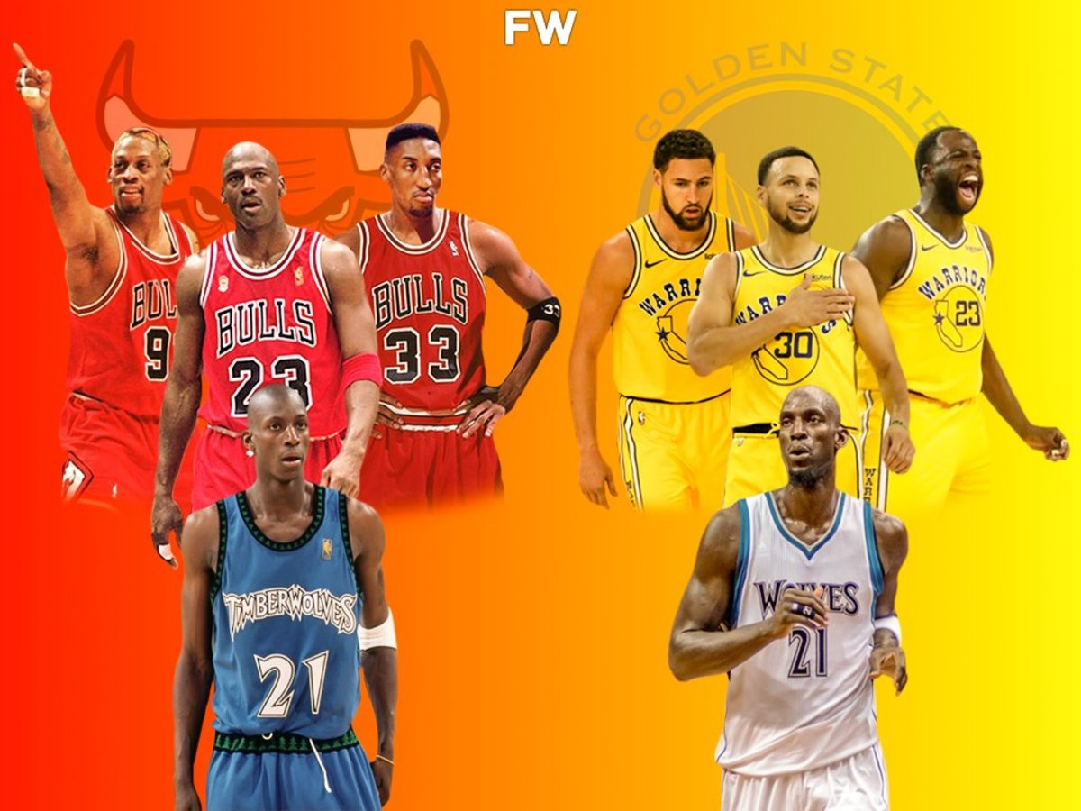 Kevin Garnett Is The Only Player To Play Against The 72-10 Chicago Bulls And The 73-9 Golden State Warriors
