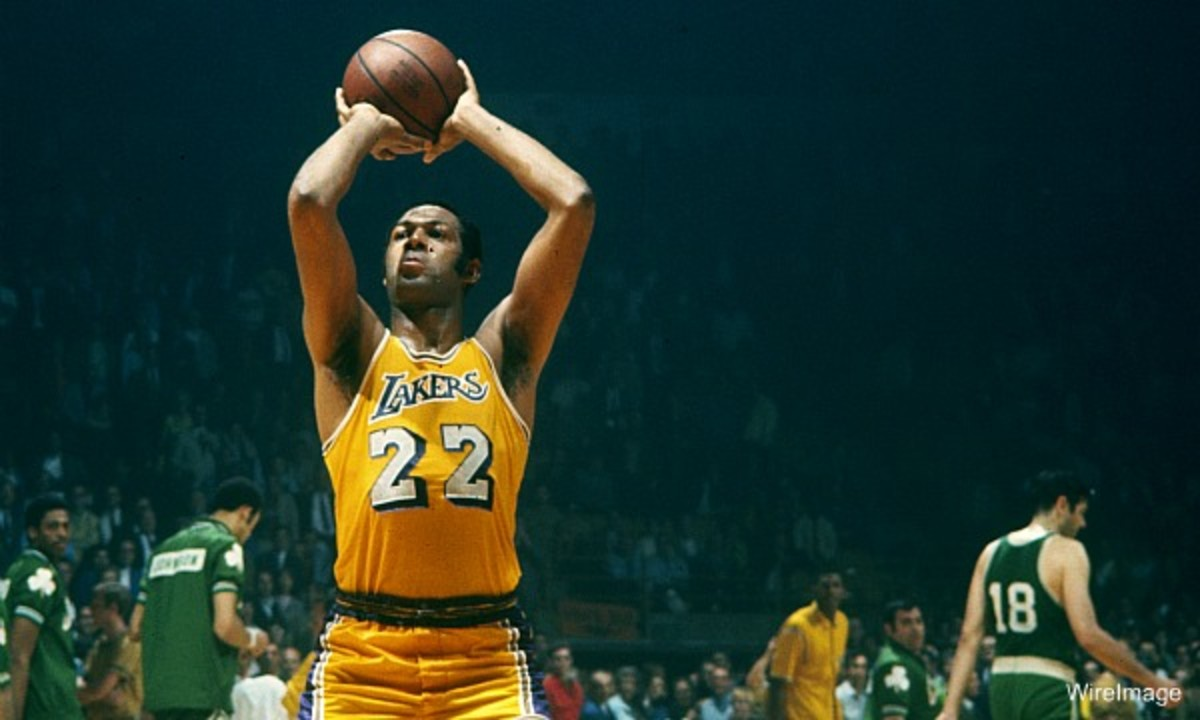 Elgin-Baylor-Los-Angeles-Lakers