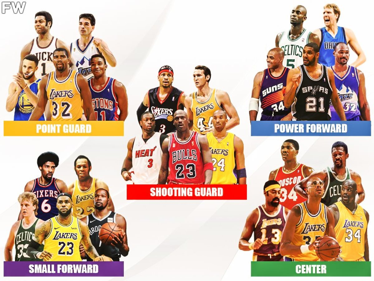 Top 5 Best Players Of All-Time At Each Position