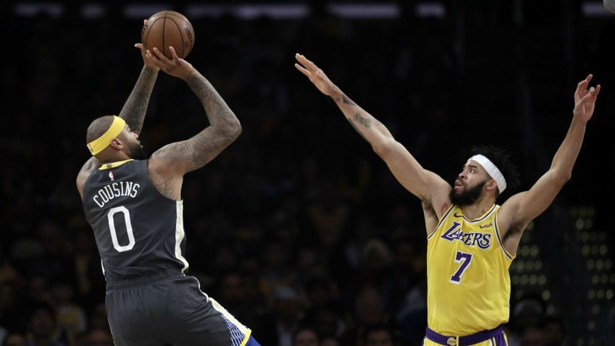DeMarcus Cousins Explains Why He Signed With The Lakers