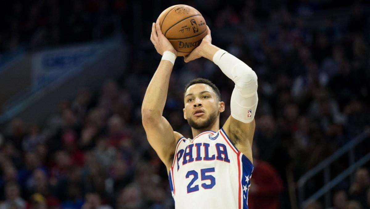 Ben Simmons Shot NBA